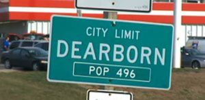 HIB Dearborn sign